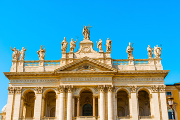 Basilica of Saint John Lateran in Rome, Italy.