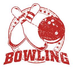 Bowling Design - Vintage