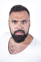 Angry male