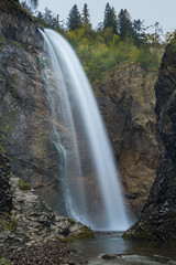 Waterfall in the Allgaeu Alps