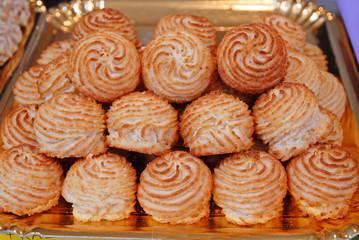 Artistic pastries.