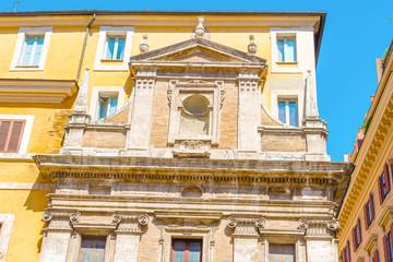 Windows in Rome, Italy.