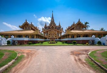 Golden Throne in Bago, Myanmar
