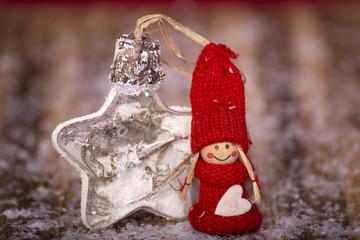 Wichtel, Stern, Winter, Weihnachtszeit