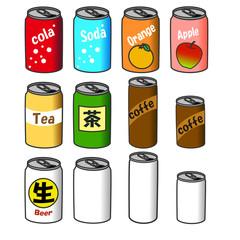 缶飲料(開封)