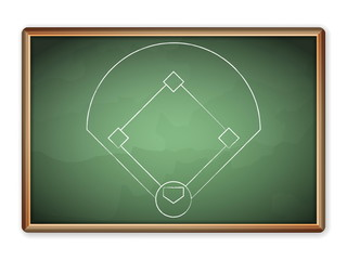 blackboard baseball