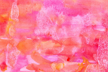 Abstract watercolour painted background