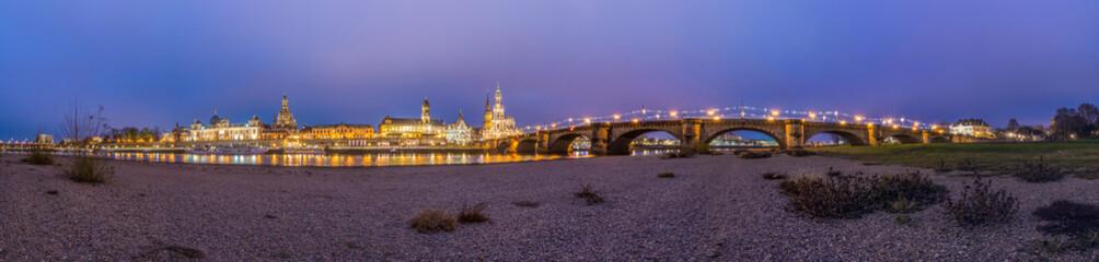 Panorama Dresden Skyline