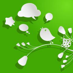 birds and bubbles speech