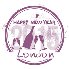 Happy New Year in London