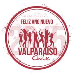 Happy New Year in Valparaiso