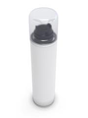 Shaving foam tube