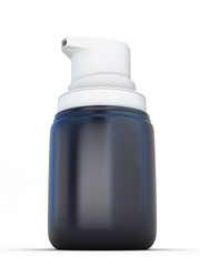 Small Shaving foam Aerosol Spray 3D Bottle Can.