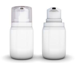 White small shaving foam Aerosol Spray.