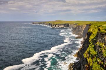 Loop head cliffs, West of County Clare, Ireland