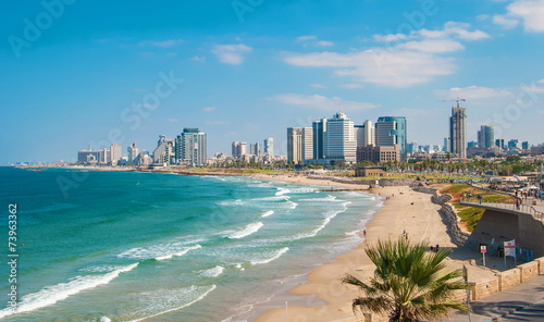 Views of the waterfront and beaches of Tel Aviv - 73963362
