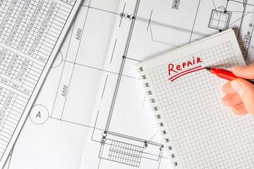 Home repair, scheduling repairs