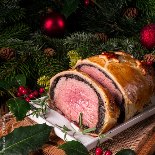 Beef Wellington as Advent creation - 73966107