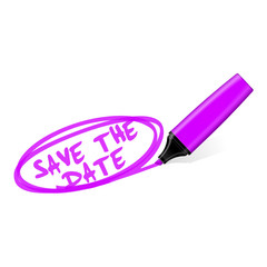 textmarker save the date II