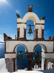 Bell Towers of Oia
