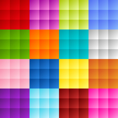 Patchwork square background