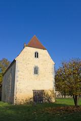 Gotisches Haus in Burgheßler (1493, Sachsen-Anhalt)