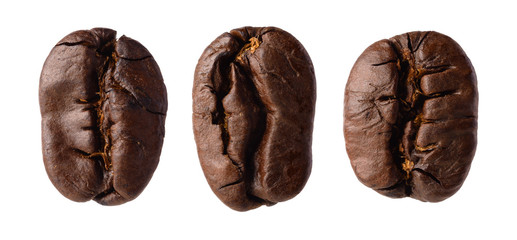 Three coffee beans
