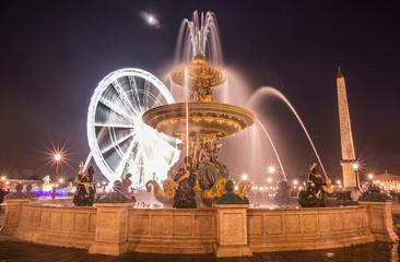 fontaine de la concorde PARIS