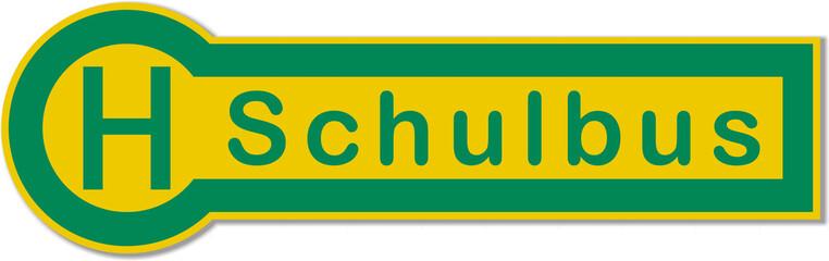 Haltestelle, Schulbus