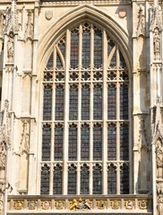 Architectural detail of Gothic window