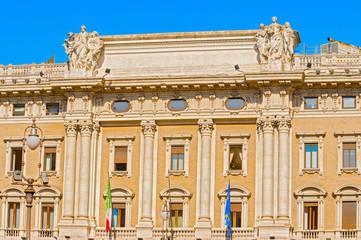 Palazzo Colonna,  Galleria di Piazza Colonna in Rome, Italy.