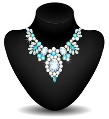 Necklace of diamonds