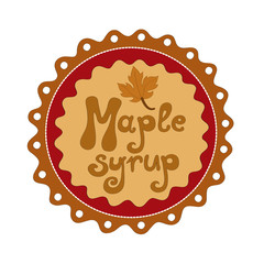 Badge Maple syrup