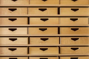 Schubladen © Matthias Buehner