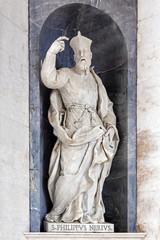 Saint Philip Neri Italian Baroque sculpture