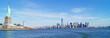 Obrazy na płótnie, fototapety, zdjęcia, fotoobrazy drukowane : New York mit Freiheitsstatue - Panorama