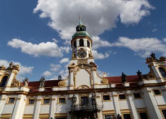 Loreta -- a large pilgrimage destination in Hradcany, Prague