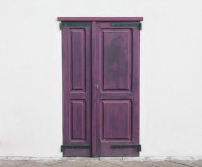 fuchsia door