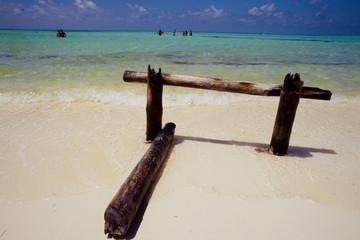 spiaggia di  bianca  playa paradiso cuba caraibi