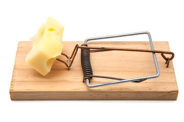 ratonera con queso