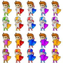 Superhero Mascot 2