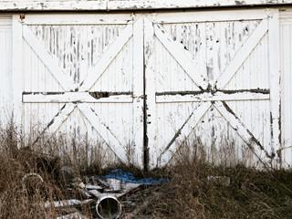 Rustic barn doors