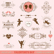 Vintage Frames and Banners, Calligraphic Design Elements