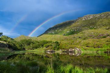 Rainbow Over Mountain