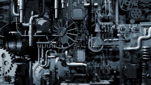 Leinwanddruck Bild Industry