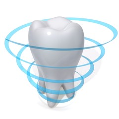 Teeth protection 3d illustration