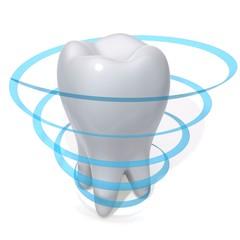 Teeth protection 3d illustration