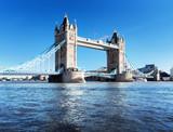 Tower Bridge in London, UK - 73982344