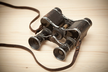Vintage binoculars since the Great Patriotic War