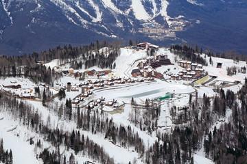Krasnaya Polyana - alpine ski Resort, Sochi